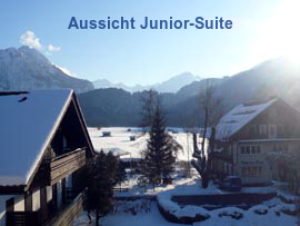 Aussicht Juniorsuite - Winter